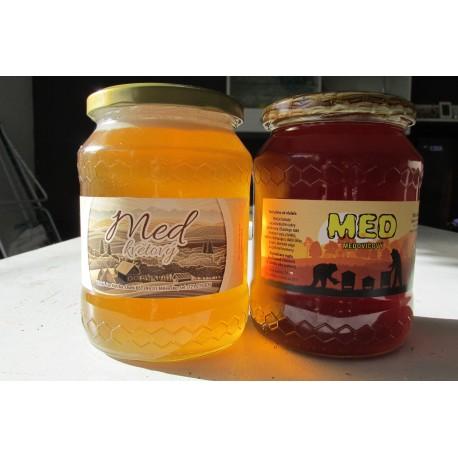 Prodej medu- Jan Kotrba- okres Písek