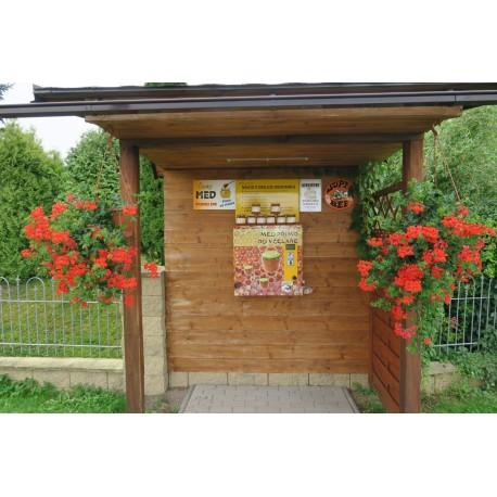 Prodej medu Petr Kacerle- Vejprnice- okres Plzeň-sever