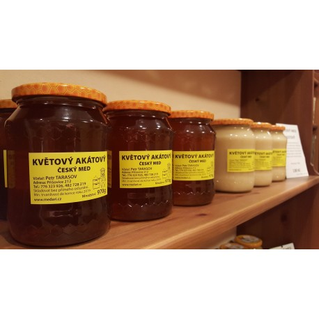 Prodej medu Petr Tarasov- Příšovice- okres Liberec