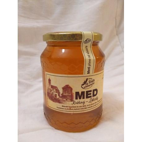 Prodej medu Antonín Šlajs- Libiš- okres Mělník