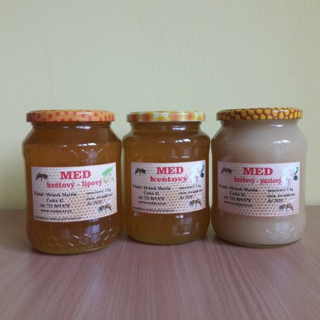 Prodej medu Martin Mrázek- Brno-Husovice- okres Brno-město