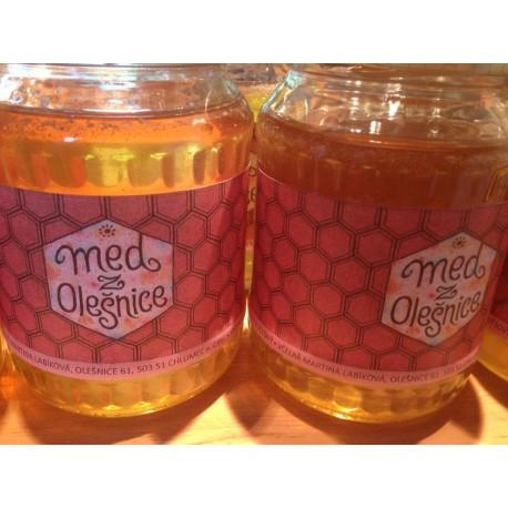 Prodej medu Martina Labíková- Chlumec nad Cidlinou- okres Hradec Králové