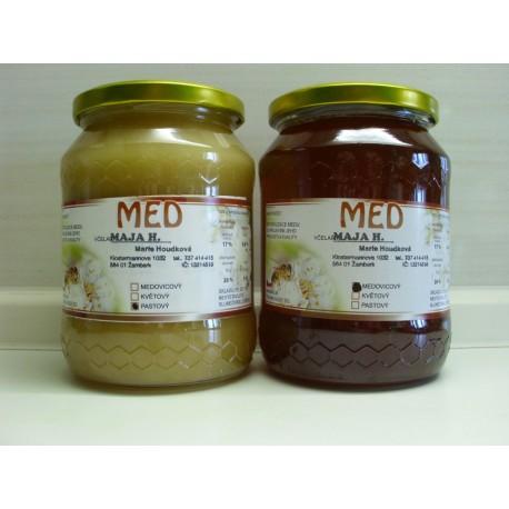 Prodej medu- Marie Houdková- okres Ústí nad Orlicí