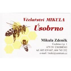 Prodej medu MIKULA Zdeněk a Jiří- Úsobrno- okres Blansko