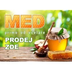 Prodej medu Jakub Švábek- Skoronice- okres Hodonín