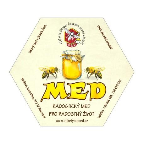 Prodej medu- Bohumil Vacek- okres České Budějovic