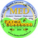 Prodej medu Jaromír Blažek- Chuchelna- okres Semily