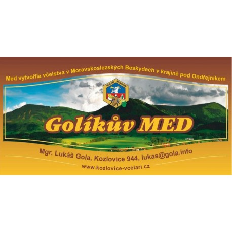 Prodej medu- Lukáš Gola- okres Frýdek-Místek
