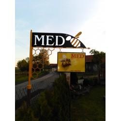 Prodej medu- Veronika Kučerová a Václav Kolář- Vodňany- okres Strakonice