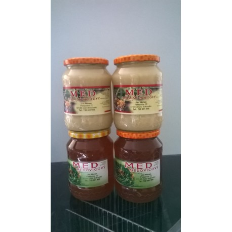 Prodej medu- Jan Němec- Dolní Bukovsko- okres České Budějovice